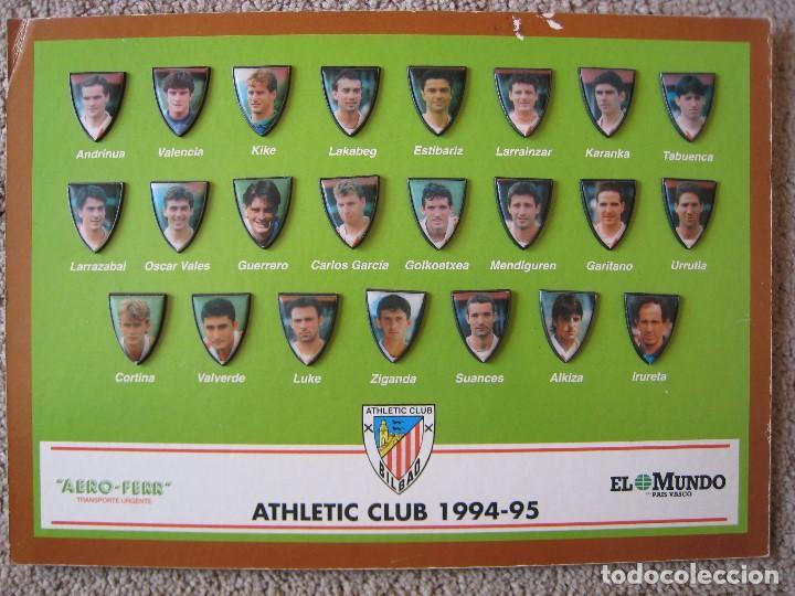 athletic club 1994-95 (pin de jugadores plantil - Comprar Pins de ...