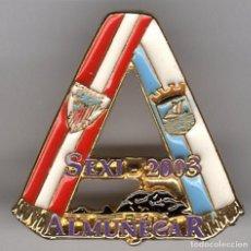 Coleccionismo deportivo: PINS FUTBOL PEÑAS ATHLETIC PEÑA SEXI 2003 DE ALMUÑECAR (GRANADA). Lote 103600095