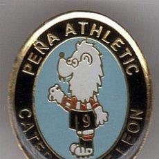 Coleccionismo deportivo: PINS FUTBOL PEÑAS ATHLETIC PEÑA CATEDRAL DE LEON. Lote 103600371