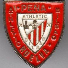 Coleccionismo deportivo: PINS FUTBOL PEÑAS ATHLETIC PEÑA ATHLETIC DE HUELVA. Lote 103600659