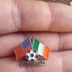 Coleccionismo deportivo: PIN INSIGNIA WORLD CUP 94 DEL MUNDIAL DEL FUTBOL USA 94. Lote 103771223
