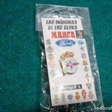 Coleccionismo deportivo: REVISTA MARCA - EN SU ESTUCHE ORIGINAL SIN ABRIR- PIN DEPORTIVO DE LA CORUÑA. Lote 105221879