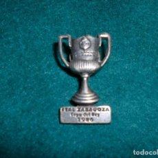 Coleccionismo deportivo: REAL ZARAGOZA: COPA DEL REY 1986. Lote 106021383