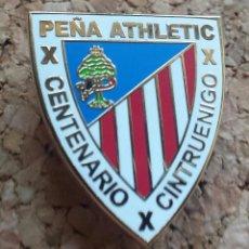 Coleccionismo deportivo: ATHLETIC CLUB BILBAO PIN PEÑA CINTRUENIGO. Lote 295491473