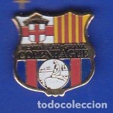 Coleccionismo deportivo: PIN FUTBOL CLUB BARCELONA DE LA PEÑA BARCELONISTA DE COPENHAGUE - DINAMARCA (FOOTBALL) BARÇA. Lote 110357911