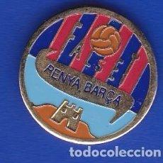 Coleccionismo deportivo: PIN FUTBOL CLUB BARCELONA DE LA PEÑA BARCELONISTA DE FALSET (FOOTBALL) BARÇA. Lote 110358727