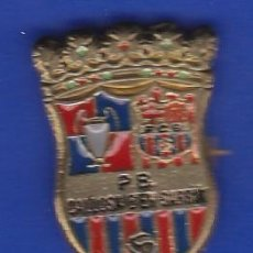 Coleccionismo deportivo: PIN FUTBOL CLUB BARCELONA DE LA PEÑA BARCELONISTA DE CALLOSA D'EN SARRIA (FOOTBALL) BARÇA. Lote 110359299