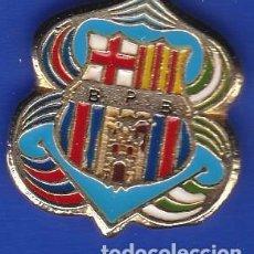 Coleccionismo deportivo: PIN FUTBOL CLUB BARCELONA DE LA PEÑA BARCELONISTA DE B.P.B. (FOOTBALL) BARÇA. Lote 110359531