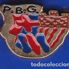 Coleccionismo deportivo: PIN FUTBOL CLUB BARCELONA DE LA PEÑA BARCELONISTA DE GUARDIOLA - PEGUERA (FOOTBALL) BARÇA. Lote 110359871