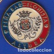 Coleccionismo deportivo: PIN FUTBOL CLUB BARCELONA DE LA PEÑA BARCELONISTA DE ALTURA (FOOTBALL) BARÇA. Lote 110360371