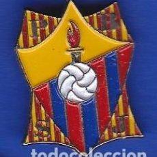 Coleccionismo deportivo: PIN FUTBOL CLUB BARCELONA DE LA PEÑA BARCELONISTA P.B.S.J. (FOOTBALL) BARÇA. Lote 110360527