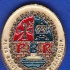 Coleccionismo deportivo: PIN FUTBOL CLUB BARCELONA DE LA PEÑA BARCELONISTA DE RIBAFORADA (FOOTBALL) BARÇA. Lote 110360811