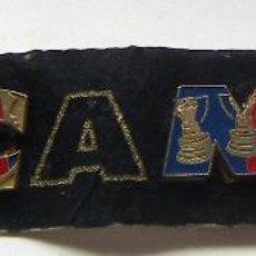 Coleccionismo deportivo: PINS DEL DIARIO SPORT .BARÇA TRICAMPIO AÑOS 90. Lote 114114323