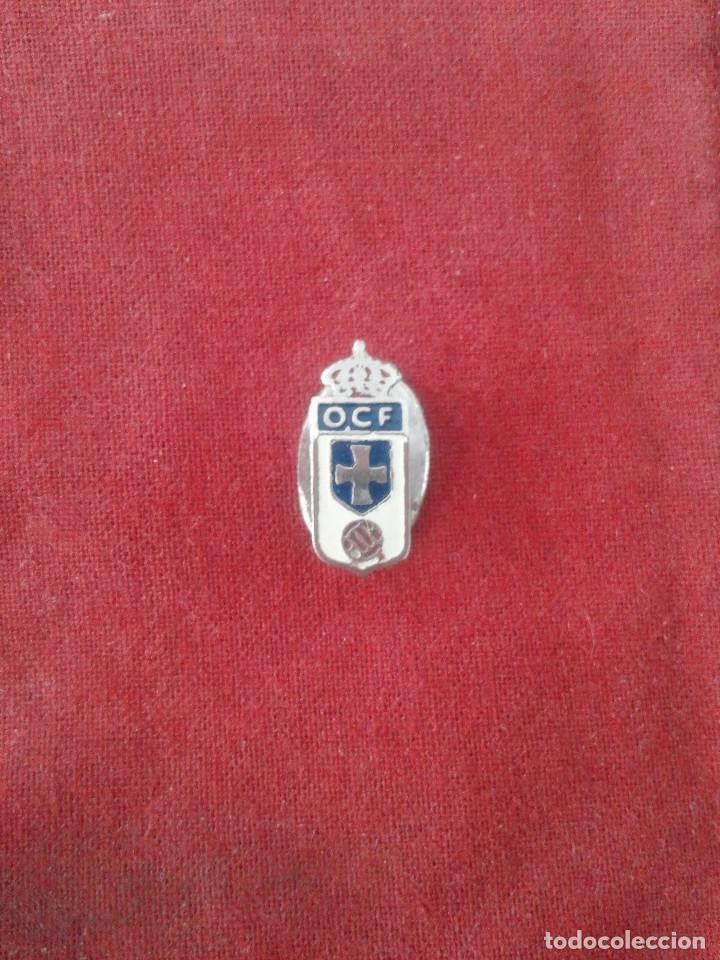 INSIGNIA REAL OVIEDO C.F. (Coleccionismo Deportivo - Pins de Deportes - Fútbol)