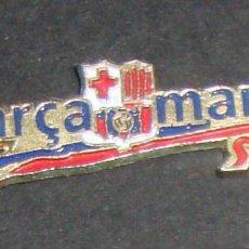 Coleccionismo deportivo: (TC-114-10) PIN F. C. BARCELONA BARÇA BARÇA MANIA. Lote 114951655