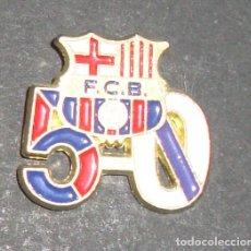 Coleccionismo deportivo: (TC-114-10) PIN F. C. BARCELONA BARÇA ESCUDO 5 - 0. Lote 114969555