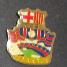 Coleccionismo deportivo: (TC-114-10) PIN F. C. BARCELONA BARÇA ESCUDO ESTADI. Lote 114970275