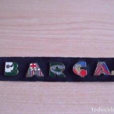 Coleccionismo deportivo: LOTE DE 5 PINS DEL BARCELONA. TRICAMPIO-TRICAMPEÓN. AÑO 1999. DIARIO SPORT. BARÇA. Lote 115425951