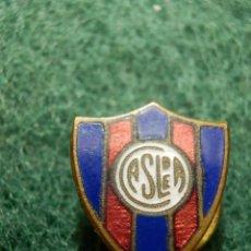 Coleccionismo deportivo: ANTIGUA INSIGNIA PARA OJAL EN SOLAPA - CLUB ATLÉTICO SAN LORENZO DE ARGENTINA - CASLDEA - CASLA. Lote 116139331