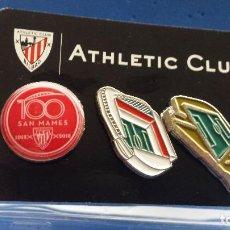 Coleccionismo deportivo: ATHLETIC CLUB BILBAO MOTIVOS CENTENARIO DE SAN MAMES . Lote 116186175