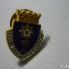 Coleccionismo deportivo: PIN FUTBOL CD CUENCA. Lote 116799199