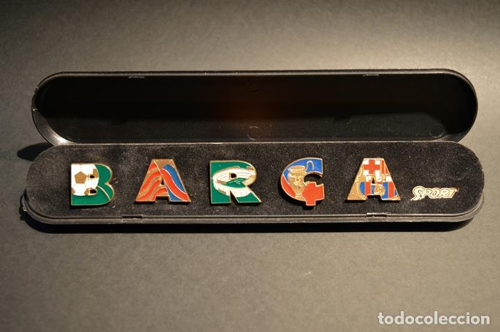 Coleccionismo deportivo: PIN BARÇA COLECCION PINS FUTBOL CLUB BARCELONA DIARIO SPORT - Foto 2 - 102692755