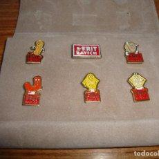 Coleccionismo deportivo: (TC-125) COLECCION PIN PINS PUBLICITARIOS FRIT RAVICH. Lote 120866707