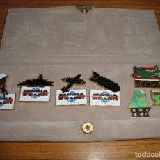 Coleccionismo deportivo: (TC-125) COLECCION PIN PINS OMAHA BEACH 1944 1994. Lote 120866779