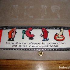 Coleccionismo deportivo: (TC-125) COLECCION PIN PINS PUBLICIDAD ESPUÑA. Lote 120866847