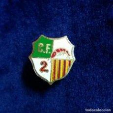 Collectionnisme sportif: ANTIGUA INSIGNIA PIN AGUJA FUTBOL C.F GAMBA 2. Lote 123035407