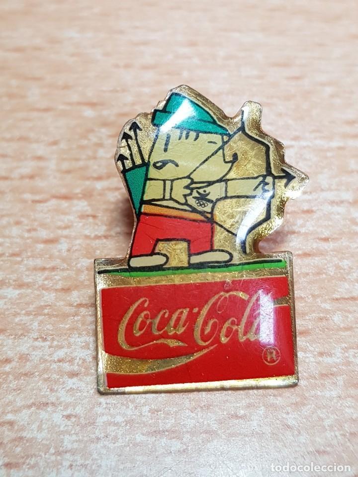 Pin Cobi Juegos Olimpicos Barcelona 92 Coca Co Comprar Pins De