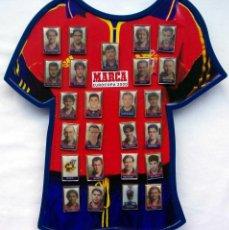 Coleccionismo deportivo: COLECCIÓN COMPLETA DE 25 PINS. EUROCOPA 2000. SELECCIÓN ESPAÑOLA DE FÚTBOL. MARCA. MUY BUEN ESTADO.. Lote 125280951