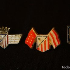 Coleccionismo deportivo: 3 PINS-ALFILER ATLETICO MADRID. Lote 126061811