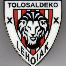 Colecionismo desportivo: PINS FUTBOL PEÑAS ATHLETIC PEÑA TOLOSALDEKO LEHOIAK GIPUZKOA. Lote 126090559