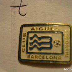 Coleccionismo deportivo: PIN FUTBOL CE AIGUAS BARCELONA. Lote 127263307