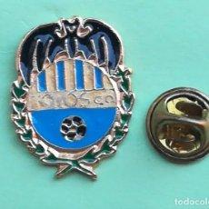 Coleccionismo deportivo: PIN - ESCUDO EQUIPO DE FUTBOL - FOYOS C.D. - COMUNIDAD VALENCIANA - VALENCIA. Lote 128485463