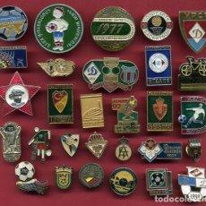 Coleccionismo deportivo: LOTE DE MAS DE 40 PINS , FUTBOL Y OTROS DEPORTES, VER FOTO ADICIONAL , ORIGINALES , RB. Lote 128801735