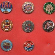 Coleccionismo deportivo: 14 PINS DE PEÑAS BARCELONISTAS. Lote 129138451