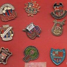 Coleccionismo deportivo: 15 PINS DE PEÑAS BARCELONISTAS. Lote 153928132