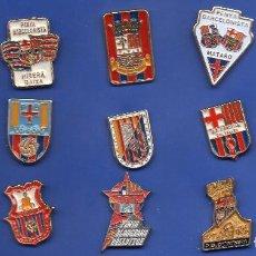 Coleccionismo deportivo: 15 PINS DE PEÑAS DEL BARCELONISTAS. Lote 129166271