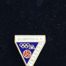 Coleccionismo deportivo: PINS PIN FUTBOL - OLÍMPICO CF DE FIGAREDO- ASTURIAS. Lote 138890054