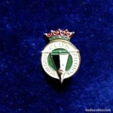 Coleccionismo deportivo: ANTIGUA INSIGNIA PIN DE AGUJA IMPERDIBLE CLUB FUTBOL BURGOS. Lote 134095862