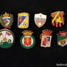Coleccionismo deportivo: PINS FÚTBOL EQUIPOS ARAGONESES. Lote 136067678