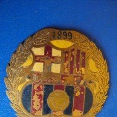 Coleccionismo deportivo: (F-181108)PLACA AUTOMOVIL C.F.BARCELONA 1899 - 1949 . 50 ANIVERSARIO. Lote 139028462