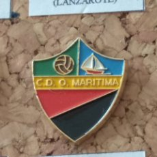 Coleccionismo deportivo: PIN FÚTBOL, C. D. O. MARÍTIMA. Lote 143150764