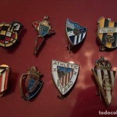 Coleccionismo deportivo: LOTE 8 PINS DE FUTBOL. Lote 143175249