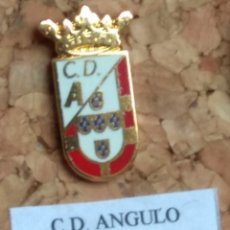 Coleccionismo deportivo: PIN FÚTBOL, C. D. ANGULO. Lote 143572618