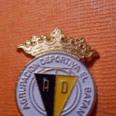 Coleccionismo deportivo: INSIGNIA - PARA OJAL DE SOLAPA - CLUB FUTBOL - A.D.- AGRUPACION DEPORTIVA EL BATAN - LAS PALMAS -. Lote 143966762
