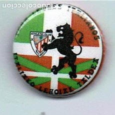 Coleccionismo deportivo: PEÑA ATHLETIC LEONES ITALIANOS ITALIAKO LEHOIAK TALDEA (CHAPA). Lote 176543545