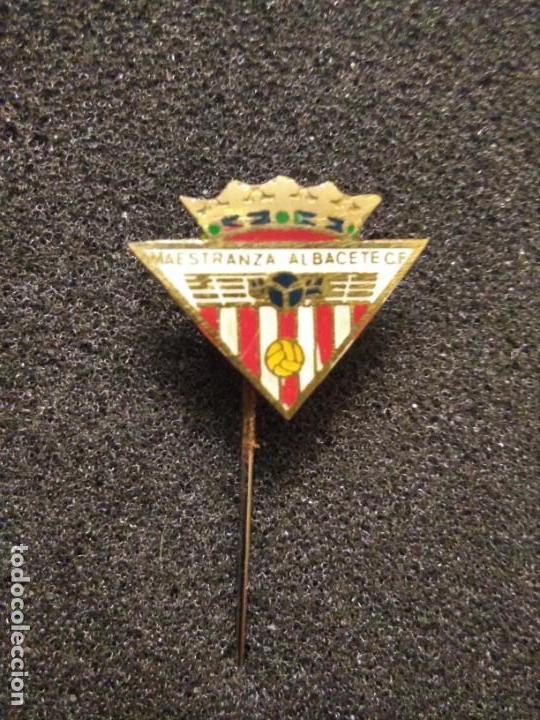 PINS FÚTBOL MAESTRANZA ALBACETE C F (Coleccionismo Deportivo - Pins de Deportes - Fútbol)